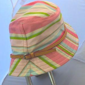 Vintage Coach buckle hat